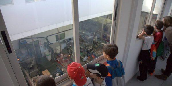Visita de los alumnos del colegio Alcalde Fabregat a Agua de Benassal