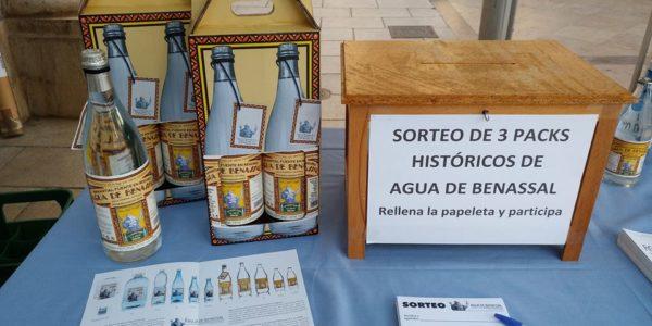 Agua de Benassal sorteo pack 2 unidades de la botella epoca 1928