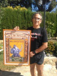 Hermenegildo Vivo Montiel, ganador del cuadro vintage de Agua de Benassal