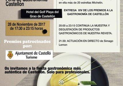 Agua de Benassal en la Feria Gastronómica de Castellón