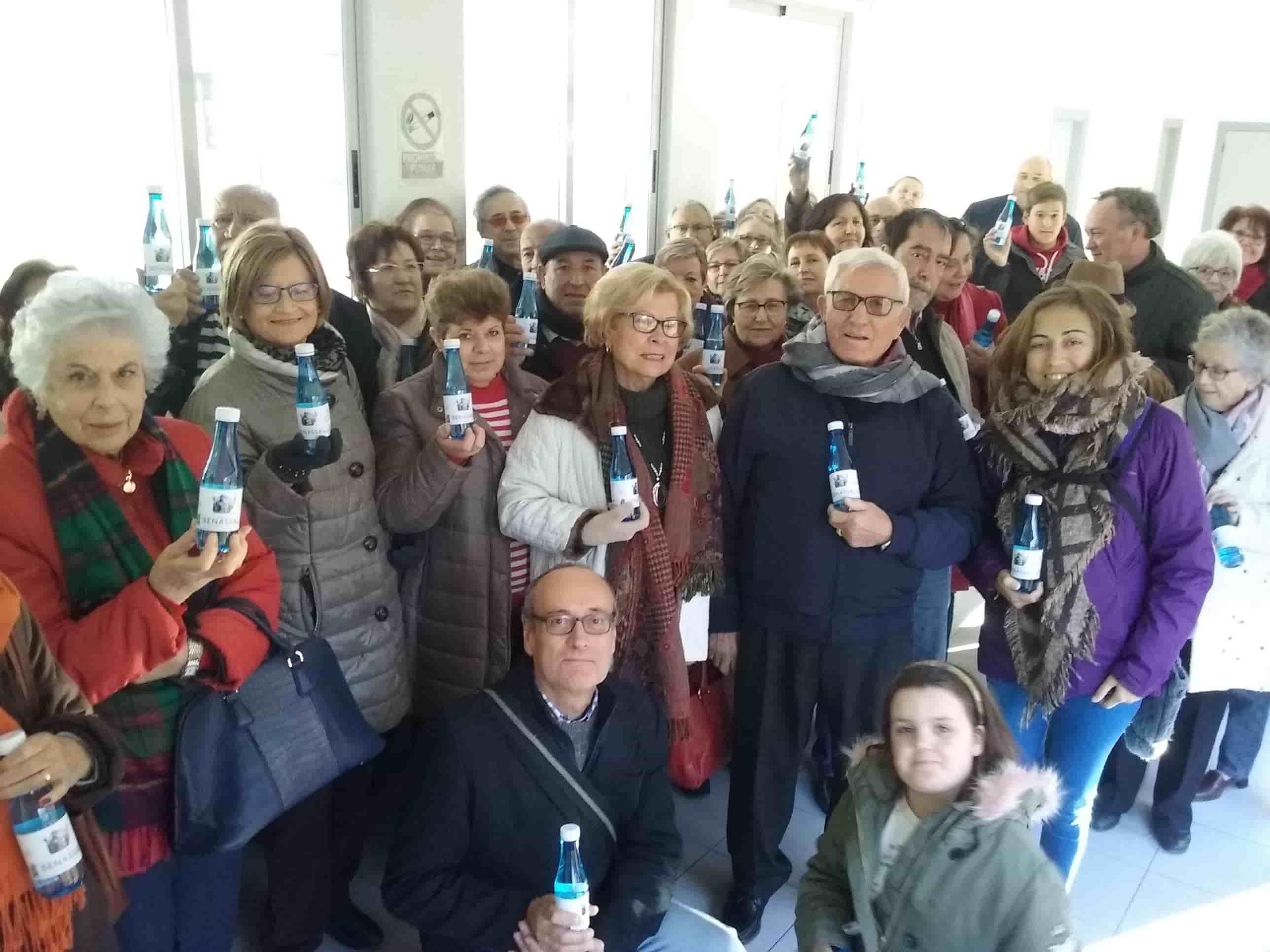 Visita de la asociación Alcer Castalia.