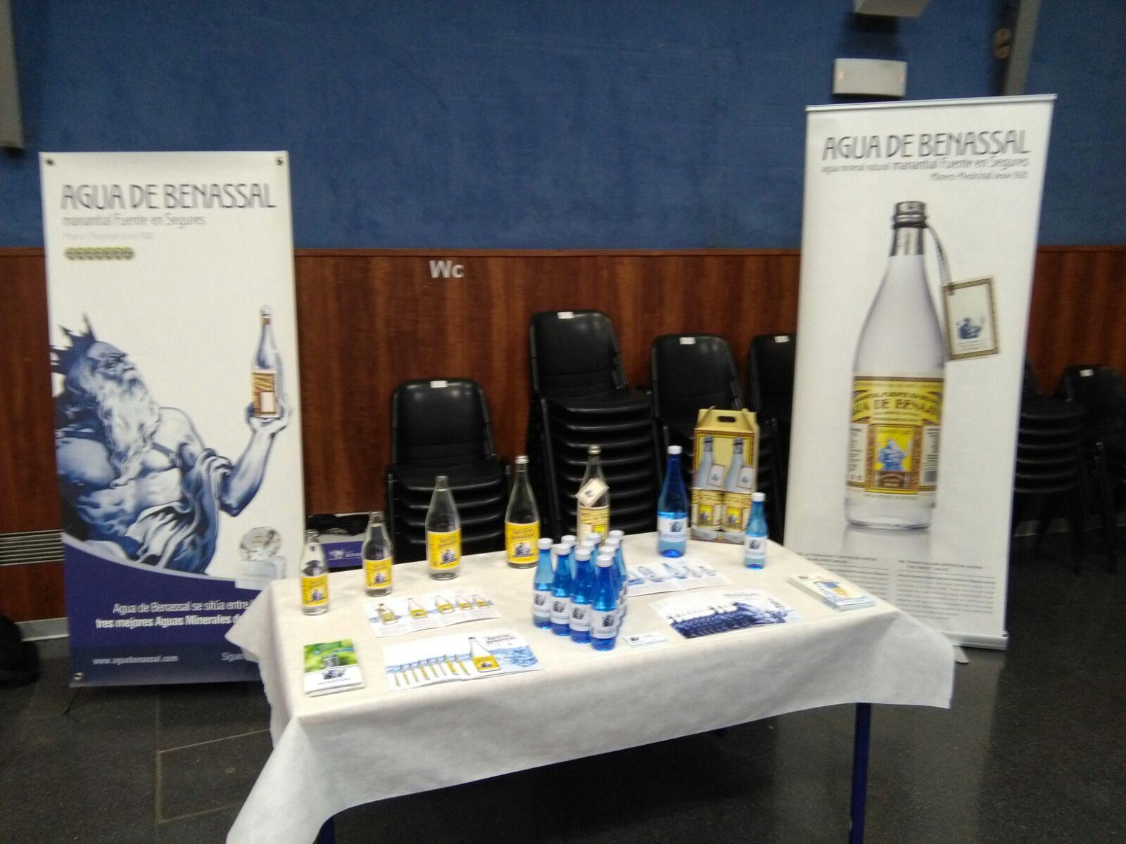 Agua de Benassal en el concurso de Sumilleres de Comunidad Valenciana