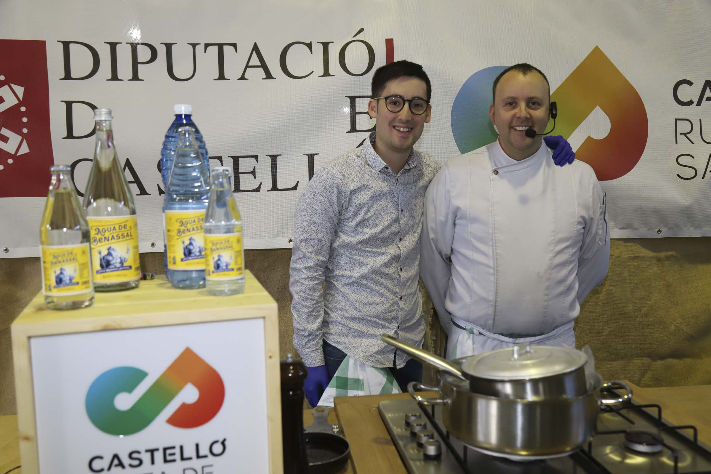 Agua de Benassal Origen en la Feria de la Trufa del Maestrat