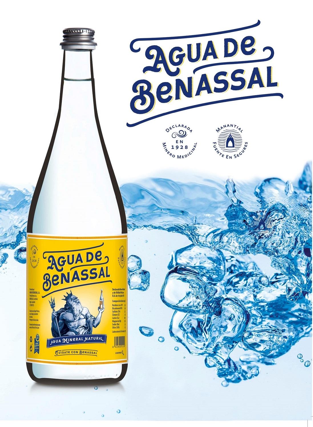 Nueva imagen para resaltar el origen de Agua de Benassal