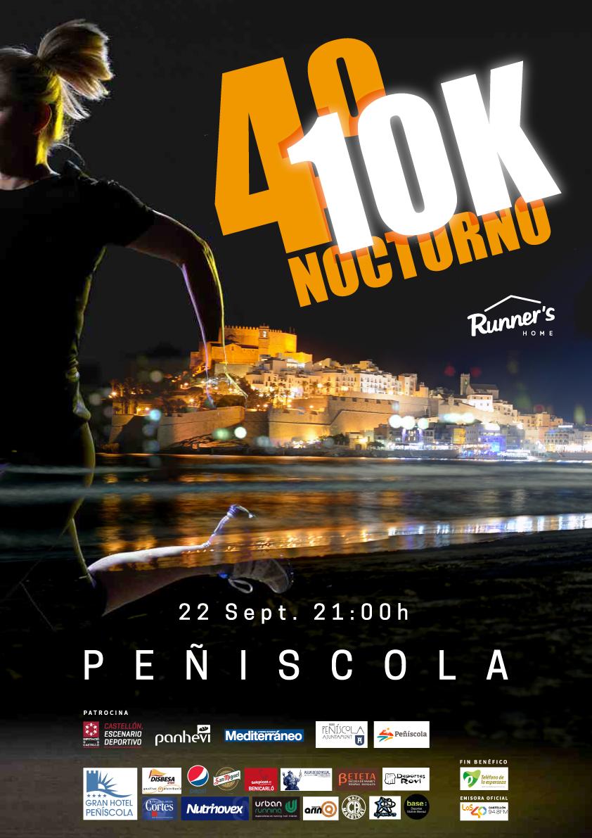 Agua de Benassal con el 10K Nocturno de Peñíscola