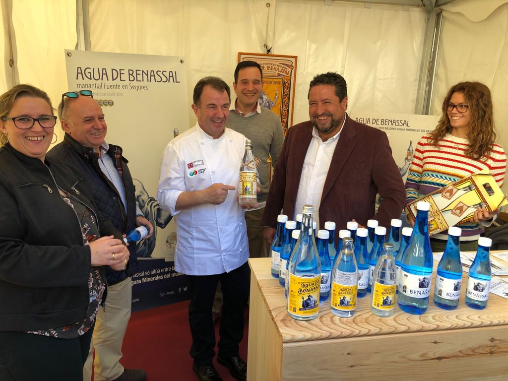 Agua de Benassal se da a conocer en la I Feria de Turismo Gastronómico Castelló Ruta de Sabor