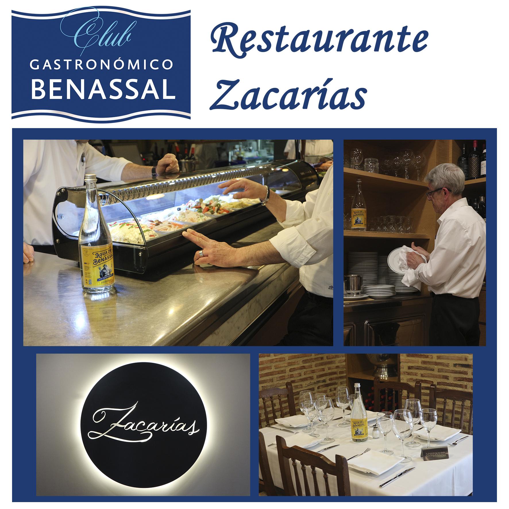 Club Gastronómico Benassal: Restaurante Zacarías (Valencia)